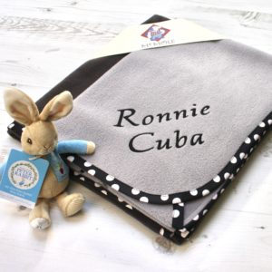 personalised gift pack grey
